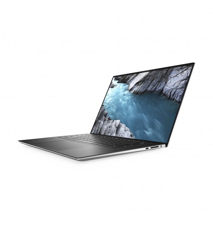"""DELL XPS 15 9500 Notebook Negru, Platină, Argint 39,6 cm (15.6"""") 1920 x 1200 Pixel 10th gen Intel® Core™ i7 16 Giga Bites"""