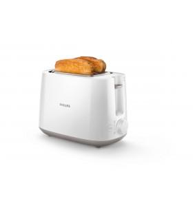 Philips Daily Collection Prăjitor de pâine cu 8 setări şi grilaj de încălzire integrat