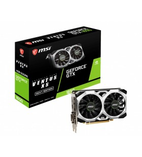 MSI GTX 1650 D6 VENTUS XS OCV1 plăci video NVIDIA GeForce GTX 1650 4 Giga Bites GDDR6