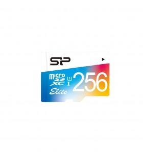 Silicon Power Elite memorii flash 256 Giga Bites MicroSDXC Clasa 10 UHS-I