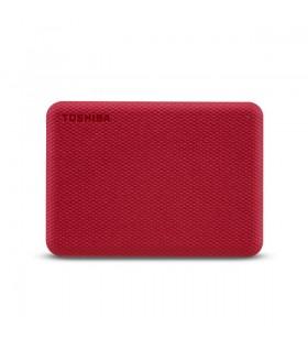 Toshiba Canvio Advance hard-disk-uri externe 1000 Giga Bites Roşu