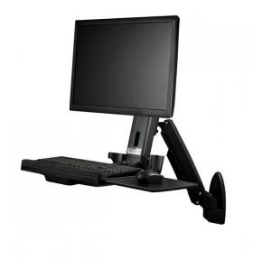StarTech.com WALLSTS1 spațiu de lucru reglabil cu așezare stat în picioare