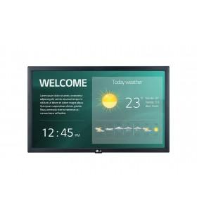 "LG 22SM3G-B Afișaj Semne 54,6 cm (21.5"") IPS Full HD Panou informare digital de perete Negru Procesor încorporat"