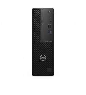 DELL OptiPlex 3080 10th gen Intel® Core™ i5 i5-10500 8 Giga Bites DDR4-SDRAM 256 Giga Bites SSD SFF Negru PC-ul Windows 10 Pro