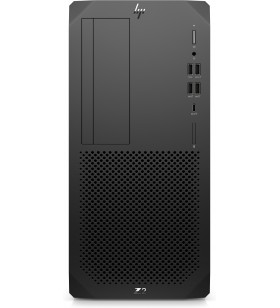 HP Z2 G5 10th gen Intel® Core™ i7 i7-10700 8 Giga Bites DDR4-SDRAM 256 Giga Bites SSD Tower Negru Stație de lucru Windows 10