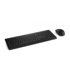 Microsoft Wireless Desktop 900 tastaturi RF fără fir QWERTY US Internațional Negru