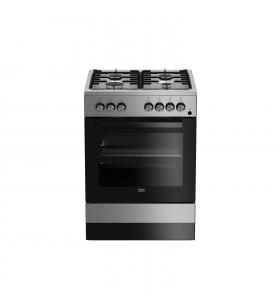 Beko FSE62110DX mașini de gătit Aragaz clasic Din oţel inoxidabil Gaz A