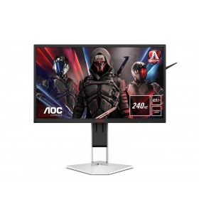 "AOC Gaming AG251FZ2E monitoare LCD 62,2 cm (24.5"") 1920 x 1080 Pixel Full HD Negru, Roşu, Alb"