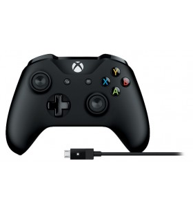 Microsoft 4N6-00002 periferice pentru gaming Negru Bluetooth USB Gamepad PC-ul, Xbox One