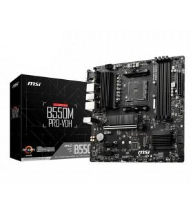 MSI B550M PRO-VDH AMD B550 Mufă AM4 micro-ATX