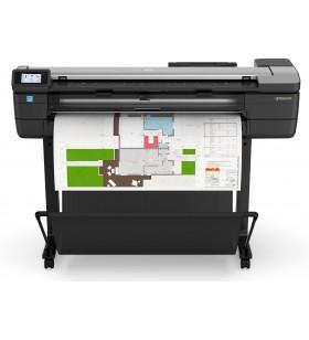 HP Designjet T830 imprimante de format mare Wi-Fi Inkjet termală Culoare 2400 x 1200 DPI A0 (841 x 1189 mm) Ethernet LAN