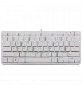 R-Go Tools RGOECQZW tastaturi USB QWERTZ Germană Alb