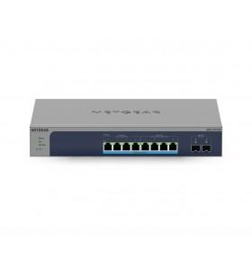 Netgear MS510TXUP switch-uri Gestionate L2 L3 L4 10G Ethernet (100 1000 10000) Power over Ethernet (PoE) Suport Gri, Albastru