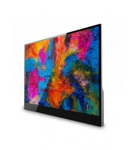 "V7 L156TCH-1G monitoare LCD 39,6 cm (15.6"") 1920 x 1080 Pixel Argint"