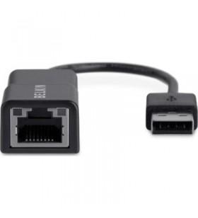 Belkin F4U047BT cabluri prelungitoare cu mufe mamă tată USB 2.0 RJ-45 Negru