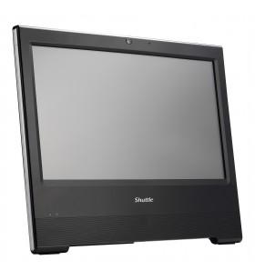"""Shuttle XPC all-in-one X50V7U3 Negru Intel SoC BGA 1528 39,6 cm (15.6"""") Difuzoare încorporate Ecran tactil 1366 x 798 Pixel"""