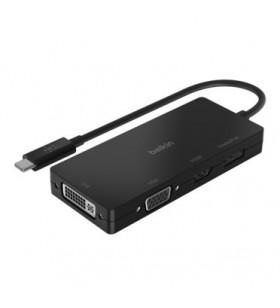 Belkin AVC003BTBK hub-uri de interfață USB 3.2 Gen 1 (3.1 Gen 1) Type-C Negru