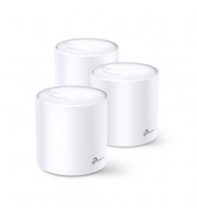 TP-LINK Deco X20(3-pack) Bandă dublă (2.4 GHz  5 GHz) Wi-Fi 5 (802.11ac) Alb 2 Intern