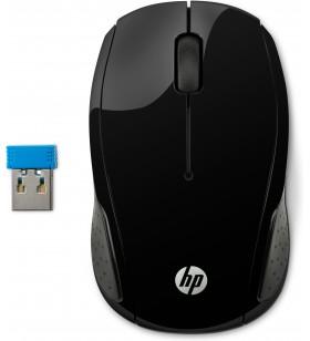 HP 200 mouse-uri Ambidextru RF fără fir Optice 1000 DPI