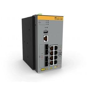 Allied Telesis AT-IE340-12GP-80 Gestionate L3 Gigabit Ethernet (10 100 1000) Power over Ethernet (PoE) Suport Gri