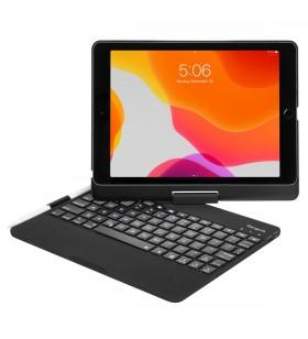 Targus THZ857DE tastatură pentru terminale mobile Negru Bluetooth QWERTY Germană