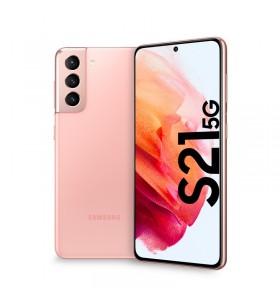 "Samsung Galaxy S21 5G SM-G991B 15,8 cm (6.2"") Dual SIM Android 11 8 Giga Bites 256 Giga Bites 4000 mAh Roz"