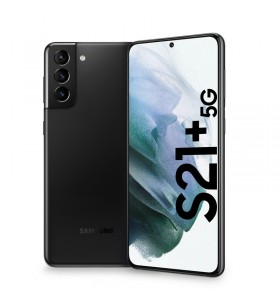 "Samsung Galaxy S21+ 5G SM-G996B 17 cm (6.7"") Dual SIM Android 11 USB tip-C 8 Giga Bites 128 Giga Bites 4800 mAh Negru"
