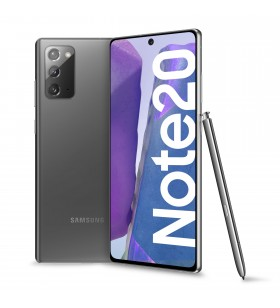 "Samsung Galaxy Note20 SM-N980F 17 cm (6.7"") Android 10.0 4G USB tip-C 8 Giga Bites 256 Giga Bites 4300 mAh Gri"