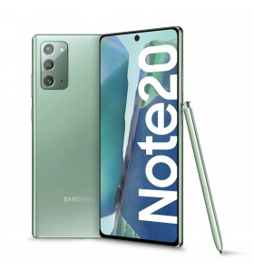 "Samsung Galaxy Note20 SM-N980F 17 cm (6.7"") Android 10.0 4G USB tip-C 8 Giga Bites 256 Giga Bites 4300 mAh Verde"