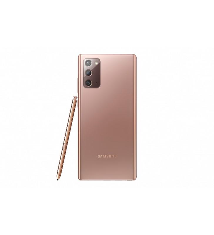 "Samsung Galaxy Note20 SM-N980F 17 cm (6.7"") Android 10.0 4G USB tip-C 8 Giga Bites 256 Giga Bites 4300 mAh De bronz"