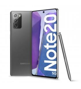 "Samsung Galaxy Note20 5G SM-N981B 17 cm (6.7"") Android 10.0 USB tip-C 8 Giga Bites 256 Giga Bites 4300 mAh Gri"