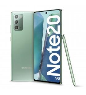 "Samsung Galaxy Note20 5G SM-N981B 17 cm (6.7"") Android 10.0 USB tip-C 8 Giga Bites 256 Giga Bites 4300 mAh Verde"