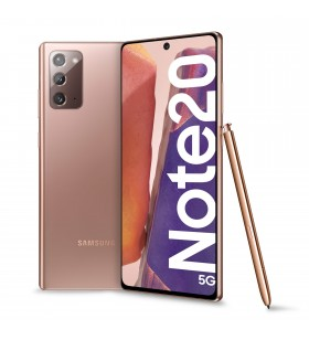 "Samsung Galaxy Note20 5G SM-N981B 17 cm (6.7"") Android 10.0 USB tip-C 8 Giga Bites 256 Giga Bites 4300 mAh De bronz"