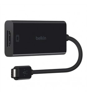 Belkin F2CU038BTBLK cable gender changer USB type C HDMI Negru