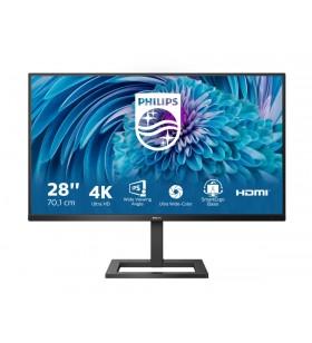 """Philips E Line 288E2UAE 00 monitoare LCD 71,1 cm (28"""") 3840 x 2160 Pixel 4K Ultra HD Negru"""