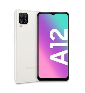 "Samsung Galaxy A12 SM-A125FZWKEUE smartphone 16,5 cm (6.5"") Dual SIM 4G USB tip-C 4 Giga Bites 128 Giga Bites 5000 mAh Alb"