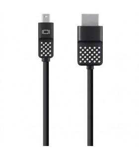Belkin Mini DisplayPort to HDTV Cable 3,6 m HDMI Negru