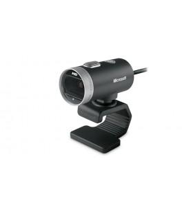 Microsoft LifeCam Cinema camere web 1 MP 1280 x 720 Pixel USB 2.0 Negru, Argint