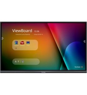 "Viewsonic IFP7550-3 table albe interactive 190,5 cm (75"") 3840 x 2160 Pixel Ecran tactil Negru HDMI"