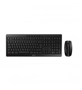CHERRY Stream Desktop tastaturi RF fără fir QWERTZ Germană Negru