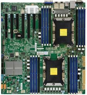 Supermicro X11DPH-I plăci de bază pentru servere stații de lucru Intel® C621 LGA 3647 (Socket P) Prelungit ATX