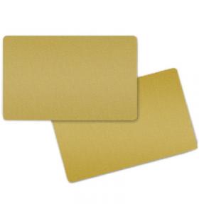PVC CARDS GOLD/BOX 5X100...