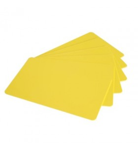 PVC CARDS TINTED YELLOW/BOX...
