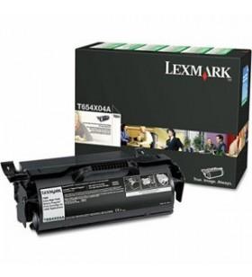 Lexmark T654X80G cartuș toner 1 buc. Original Negru
