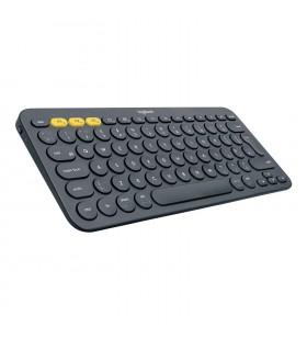 Logitech K380 tastaturi Bluetooth AZERTY Franţuzesc Gri