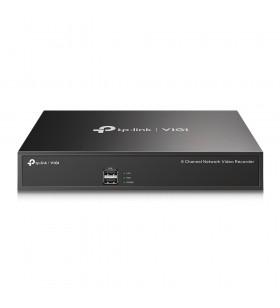 TP-LINK VIGI NVR1008H sistem de înregistrare pentru camere de supraveghere (NVR) 1U Negru