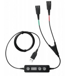 Jabra Link 265 cablu audio USB2.0 2x QD Negru