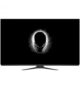 """Monitor OLED DELL Alienware AW5520QF, 55"""", 16:9, 4K 3840x2160 at 120Hz, FreeSync , 130000:1, 120/120, 0.5ms, 130cd/m2 (typical)"""