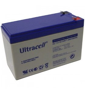 VRLA Ultracell 12V 7.2 Ah Battery UL7.2-12