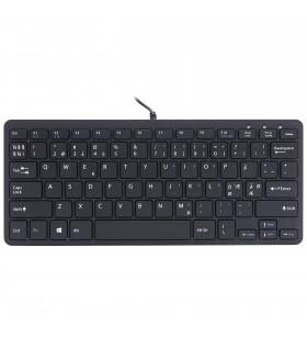 R-Go Tools RGOECNDB tastaturi USB QWERTY Nordic Negru